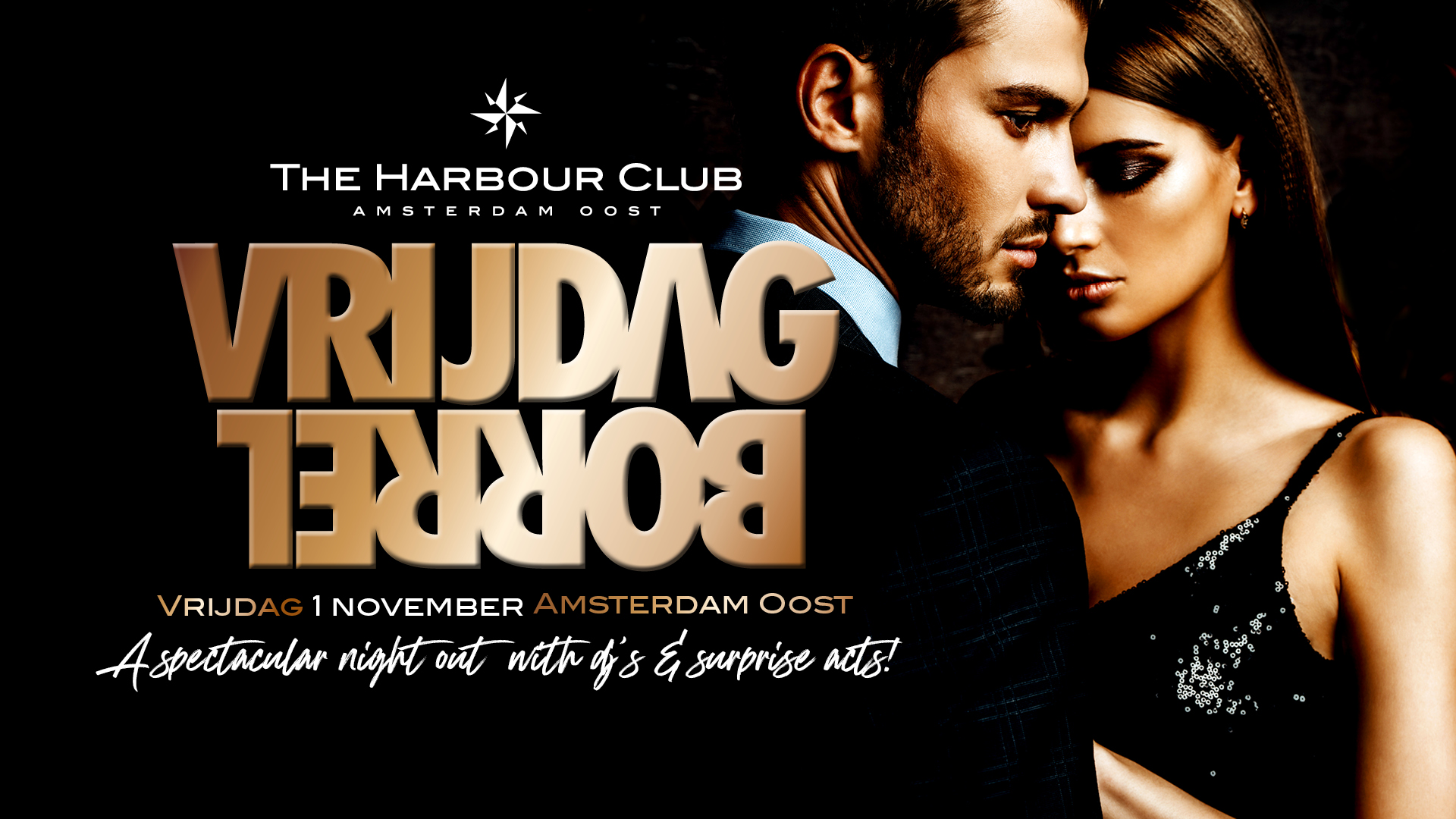 2019-11-01 | De Amsterdamse Vrijdagborrel | The Harbour Club Amsterdam Oost!