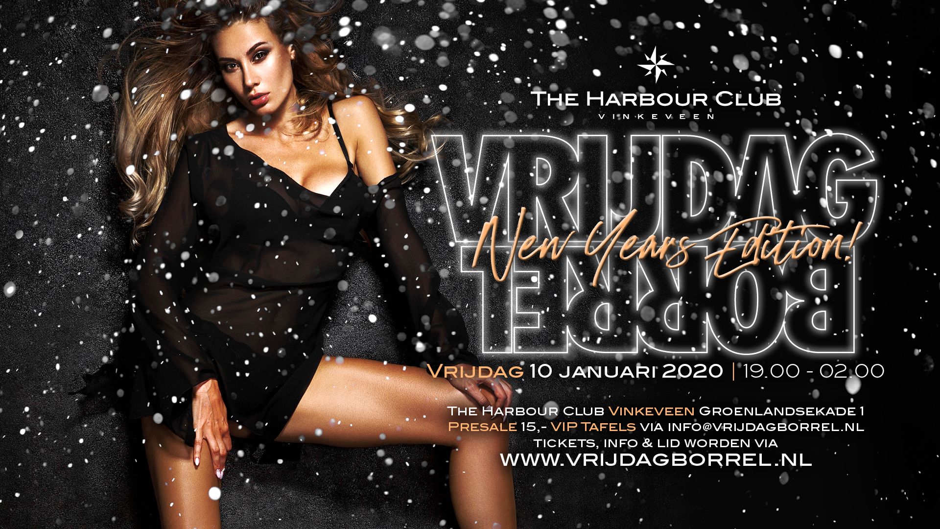 2020-01-10 | de Gooische Nieuwjaarsborrel | The Harbour Club | Vinkeveen